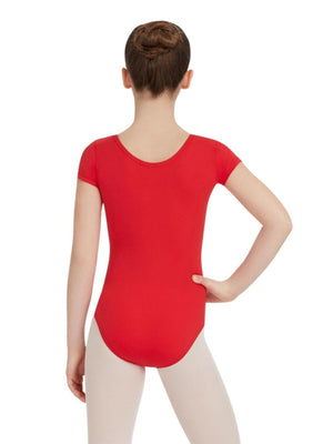 Short Sleeve Leotard - Girls