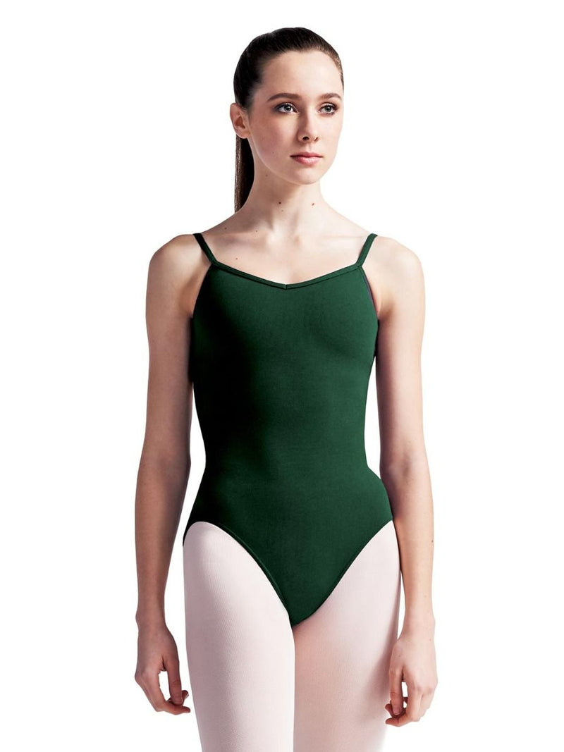 V-Neck Camisole Leotard