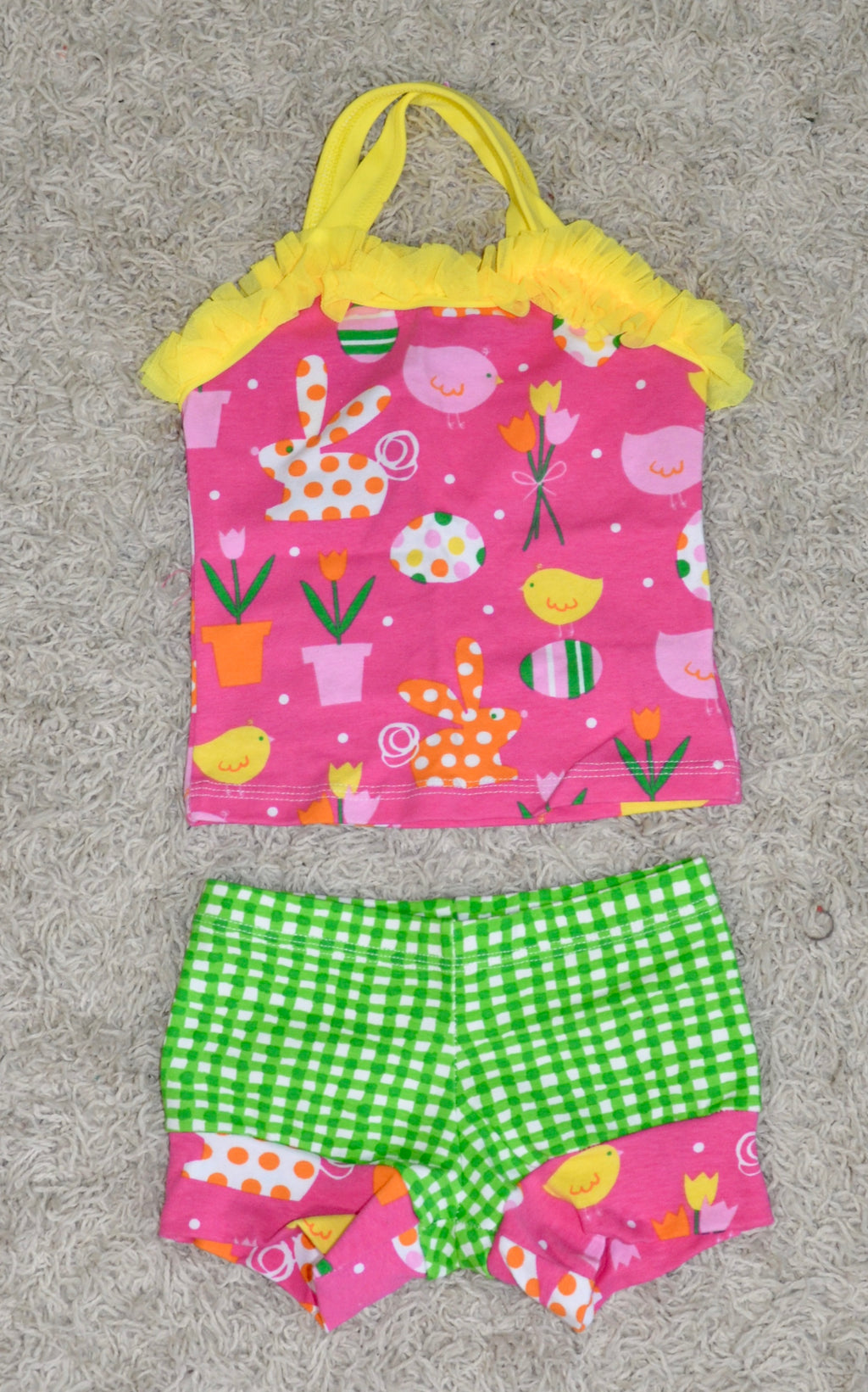 PINK/GREEN & YELLOW DANCE SET