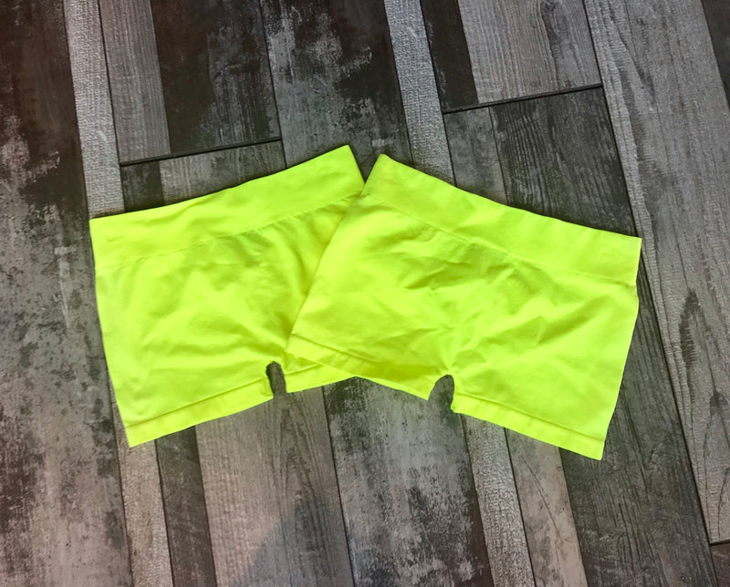 SOFT BOTTOMS, NEON YELLOW