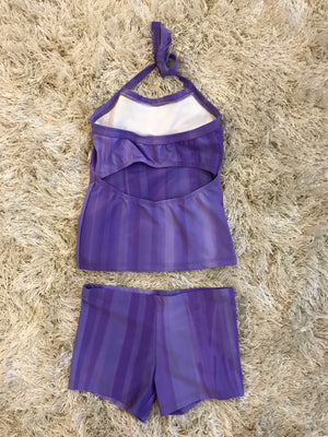 PURPLE, LONG TOP SET