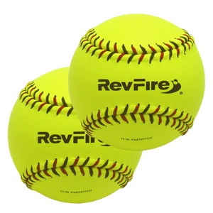 "Two 12"" RevFire Softballs"