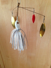 """Dominator"" Series  3 Arm V Spinnerbait Gold Willowleaf Blades Alabama Bass!!"