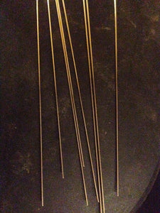 100 Pack Straight .040 WIRE SHAFT FORMS 6 inches Long Perfect for LURE MAKING