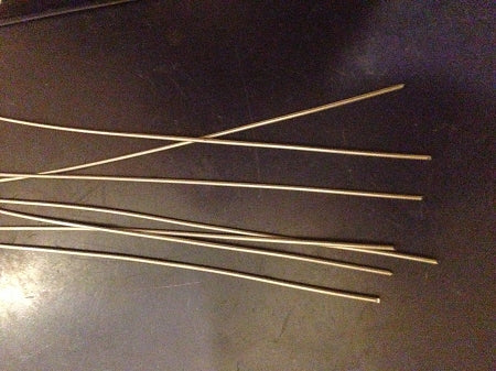 100 pack .040 WIRE SHAFT FORMS 8 inches long  LURE MAKING!!