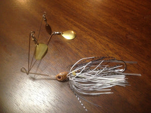 "Crawdad's ""Dominator"" Colorado Blade Original 3 Arm V Spinnerbait with Free Victory Swinging Hook"