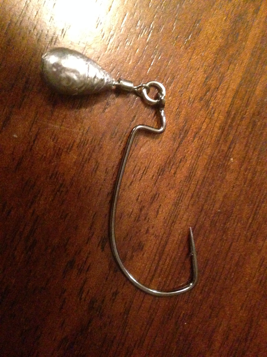 5 Pack Jika Rig Tear, Pear Jig 3/0 4/0 5/0 Eagle Claw EWG Hook