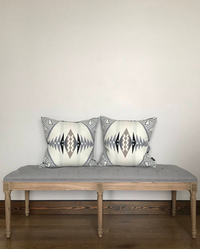 Modern Wool Throw Pillow Cover - River House MT