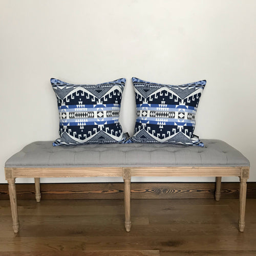 Southwest Modern Wool Pillow Cover - River House MT