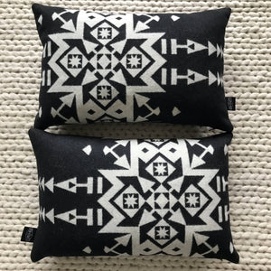 Wool Geometric Throw Pillow Cover - River House MT