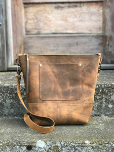 Fairfield Leather Crossbody Bag - River House MT