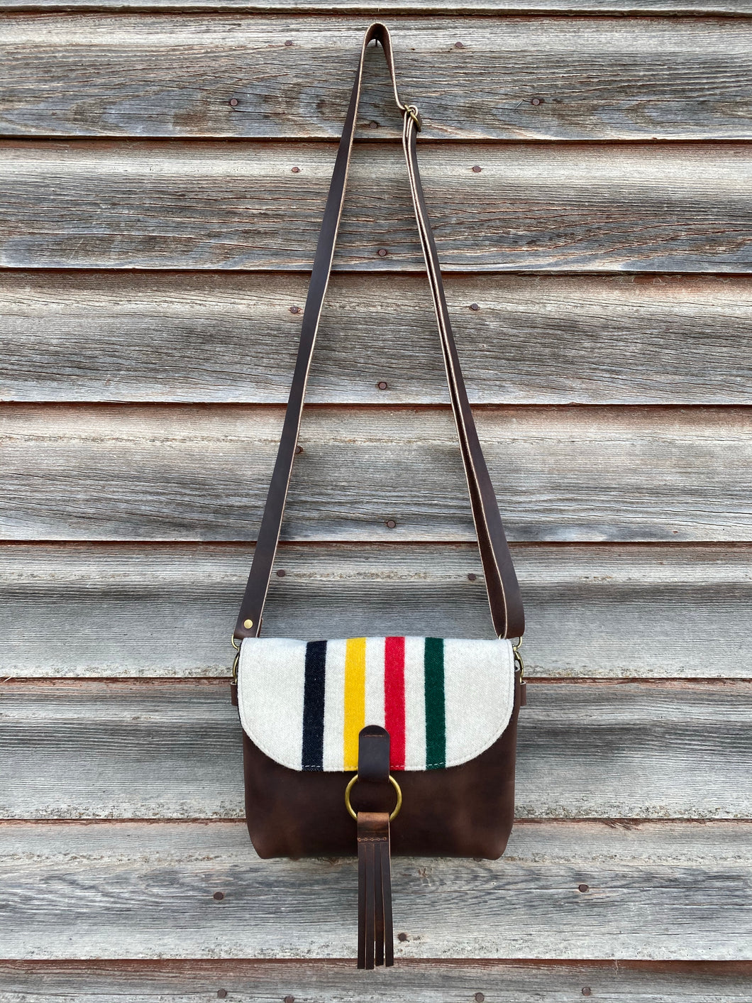 Dillon Crossbody with Pendleton® Wool - River House MT
