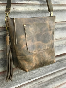 Fairfield Leather Crossbody Bag
