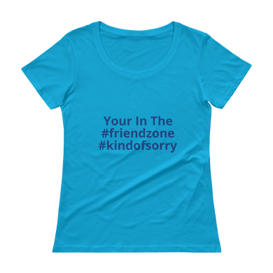 Friend Zone - Ladies' Scoopneck T-Shirt