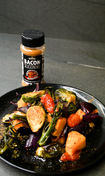Bacony Roasted Vegetables