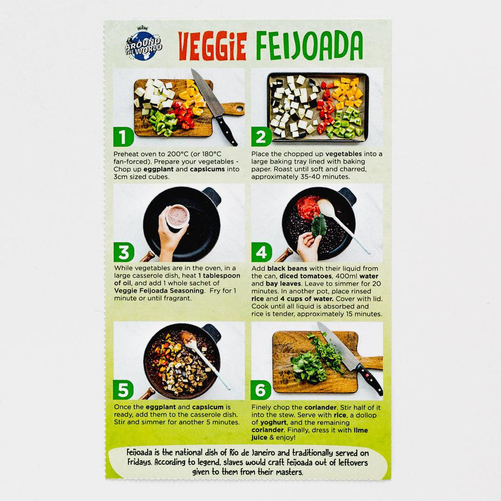 Veggie Feijoada Recipe Kit