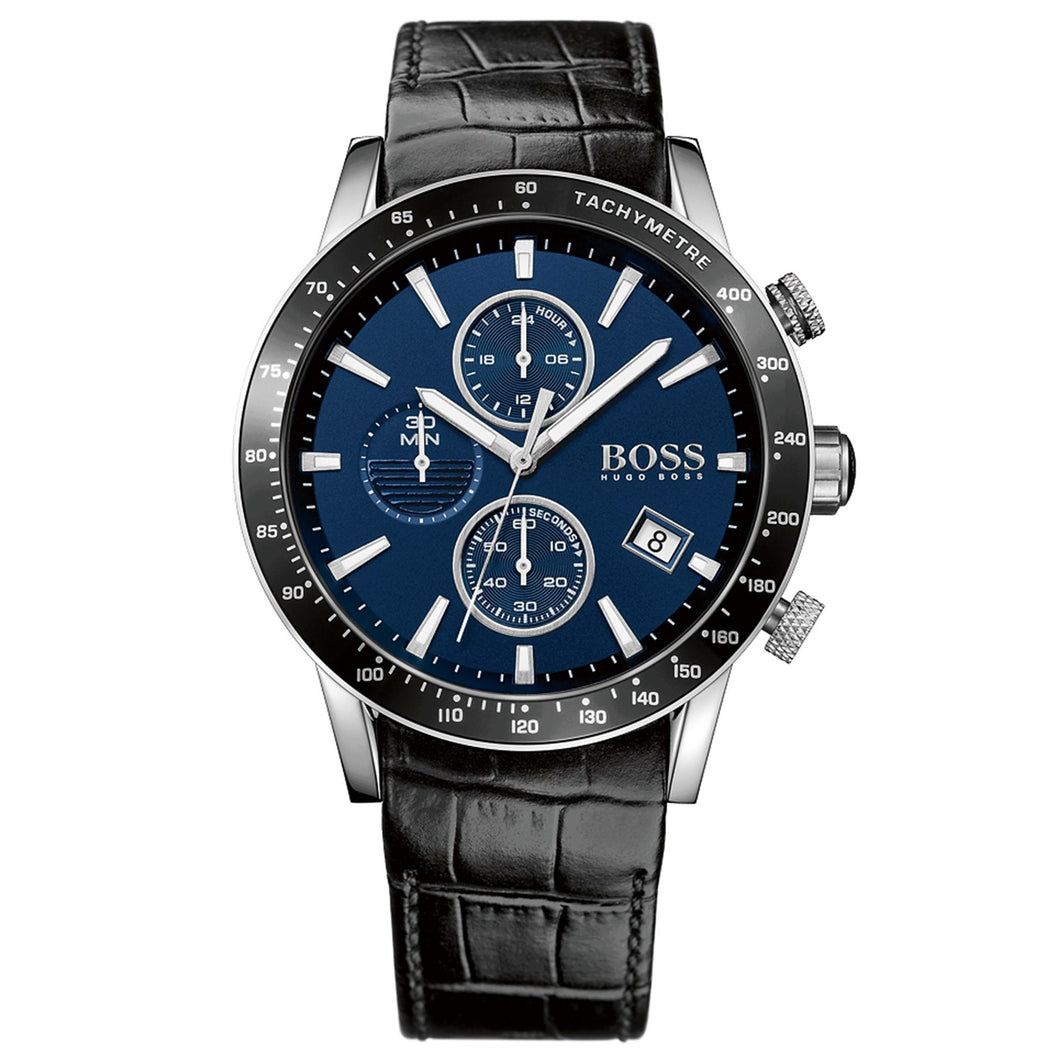 HUGO BOSS | Midnight Blue / Black Men's Rafale Chronograph Watch | 1513391