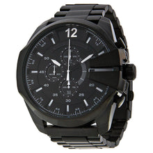 DIESEL | Black / Silver Mega Chief Men's Chronograph Watch | DZ4283