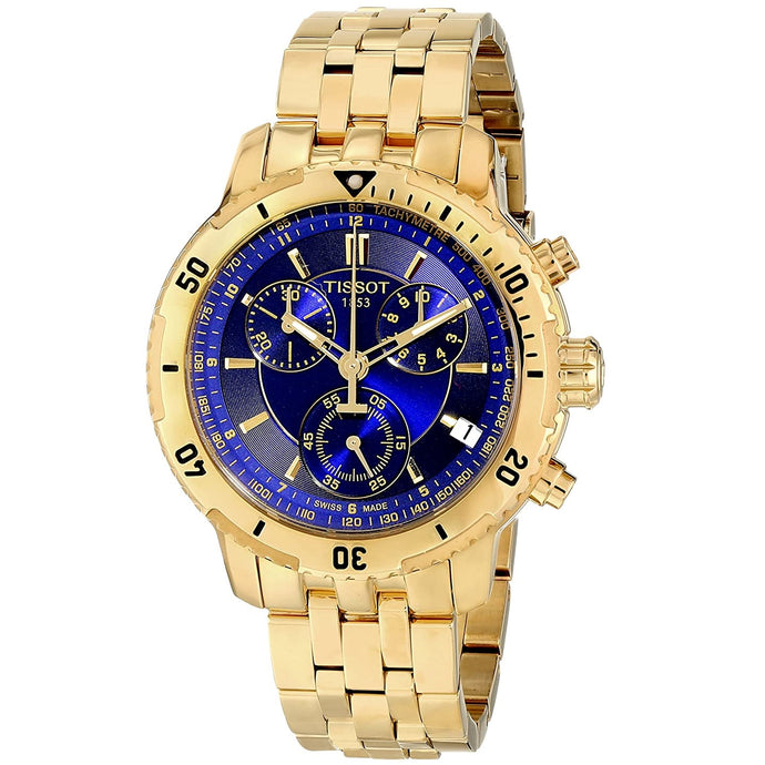 TISSOT | Gold / Royal Blue PRS 200 | T067.417.33.041.00