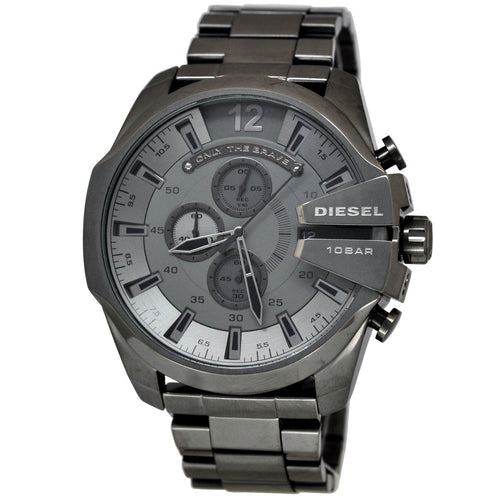 DIESEL | Gunmetal Mega Chief Men's Chronograph Watch | DZ4282