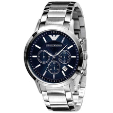 EMPORIO ARMANI | Royal Blue / Silver Men's Chronograph Watch | AR2448