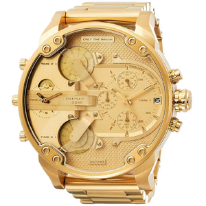 DIESEL | Gold Mr. Daddy 2.0 Chronograph Men's Watch | DZ7399