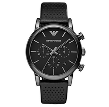 EMPORIO ARMANI | Black / Gunmetal Classic Men's Watch | AR1737
