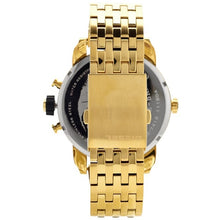 DIESEL | Black / Gold Little Daddy Men's Chronograph Watch | DZ7412
