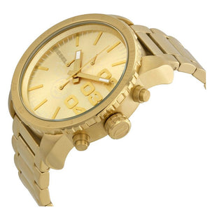 DIESEL | All Gold Double Down Men's Chronograph Watch | DZ4268