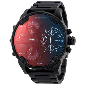 DIESEL | Black / Iridescent | Mr. Daddy 2.0 Men's Chronograph Watch | DZ7395