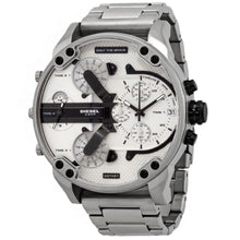 DIESEL | White / Silver / Black Mr. Daddy 2.0 Men's Chronograph Watch | DZ7421