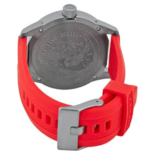 DIESEL | Gunmetal / Red Men's Rasp Watch | DZ1806