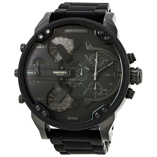 DIESEL | Black Mr. Daddy 2.0 Men's Chronograph Watch | DZ7396