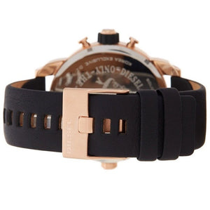 DIESEL | Black / Rose Gold Little Daddy Men's Chronograph Watch | DZ7282