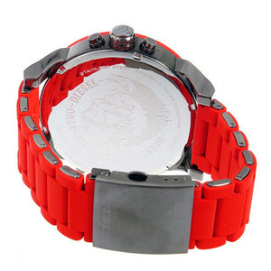 DIESEL | Red / Gunmetal Mr. Daddy 2.0 Men's Chrono Watch | DZ7370
