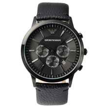 EMPORIO ARMANI | Sportivo Chronograph Black Men's Watch | AR2461