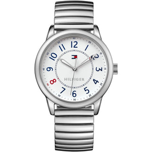 TOMMY HILFIGER | White / Silver Ladies' Bracelet Watch | 1781683