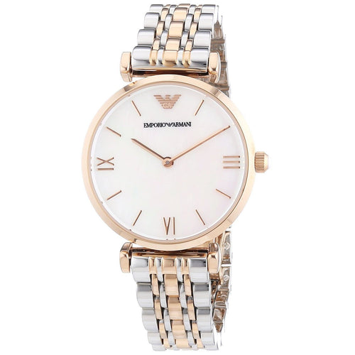 EMPORIO ARMANI | Mother of Pearl / Rose Gold Ladies' Watch | AR1683