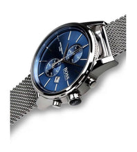 HUGO BOSS | Blue \ Silver Mesh Men's Chronograph Watch | 1513441
