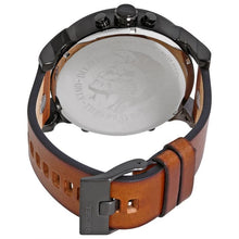 DIESEL | White / Silver / Brown Leather Mr. Daddy 2.0 Men's Chronograph Watch | DZ7394