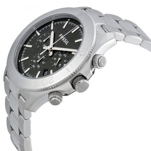 FOSSIL | Black / Silver Men's Retro Traveler Watch | CH2848