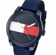 TOMMY HILFIGER | Red / White / Navy Blue Men's Cool Sport Watch | 1791322