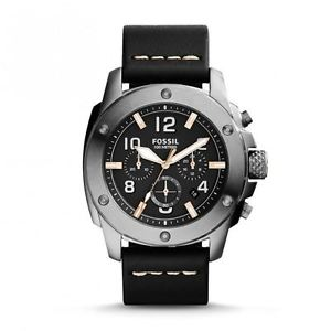 FOSSIL | Black / Silver Men's Modern Machine Chronograph Watch | FS5016