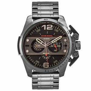 DIESEL | Ironside Chronograph Black / Gunmetal Men's Watch | DZ4363