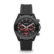 FOSSIL | Black / Red Retro Traveler Chronograph Men's Watch | CH2874