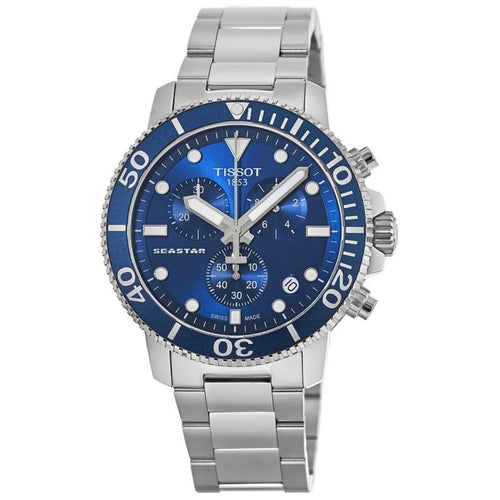 TISSOT | Royal Blue / Silver T-Sport Seastar 1000 | T120.417.11.041.00