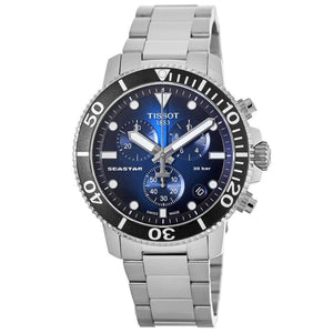 TISSOT | Midnight Blue / Black / Silver T-Sport Seastar 1000 | T120.417.11.041.01