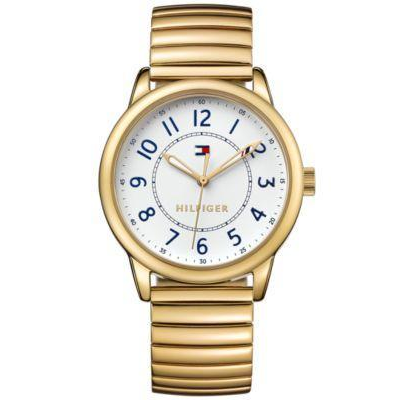 TOMMY HILFIGER | White / Gold Ladies' Bracelet Watch | 1781682