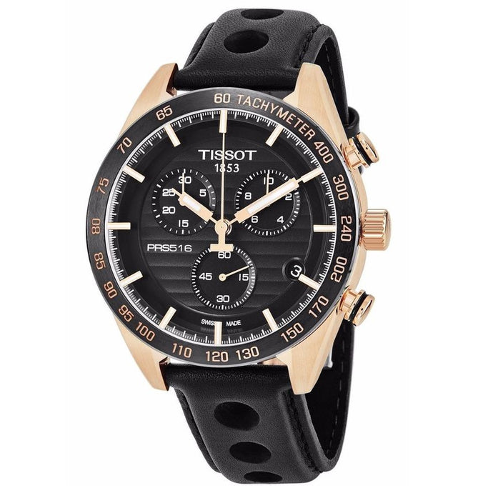 TISSOT | Black / Rose Gold PRS 516 | T100.417.36.051.00