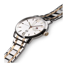 TOMMY HILFIGER | White / Silver / Gold Men's George Watch | 1791214